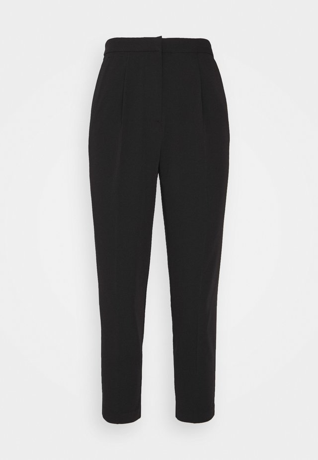 NAPLES SLIM LEG - Trousers - black