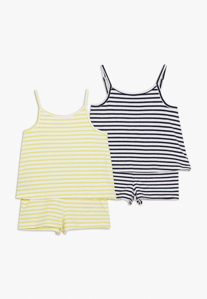 Name it - NMFJILL SHORT SUIT 2 PACK  - Jumpsuit - limelight/bright white
