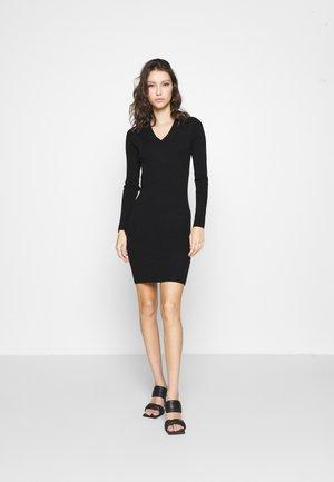 OBJFAE THESS DRESS - Jumper dress - black