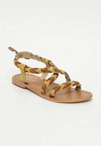 White Sun - OMBELINE - Sandals - yellow - 1