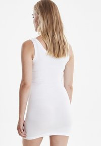b.young - PAMILA - Jersey dress - optical white - 3