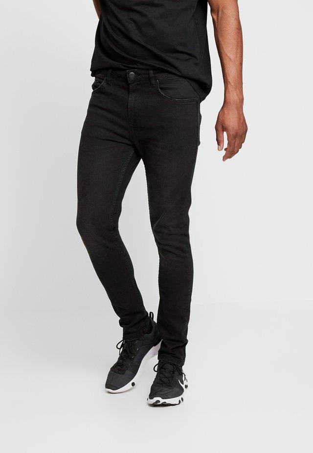DENIM CAST 6 - Skinny-Farkut - black wash