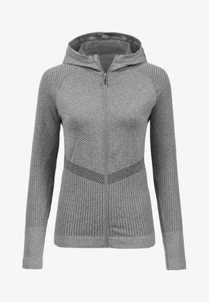 MIT KAPUZE - Training jacket - grau