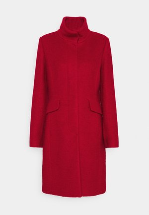 Classic coat - crimson red