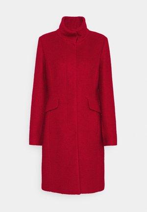 Classic coat - crimson red