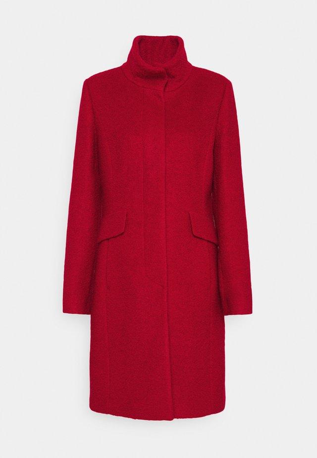 LANGARM - Classic coat - crimson red