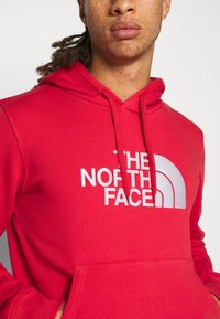 The North Face - DREW PEAK HOODIE - Felpa con cappuccio - rococco red - 5