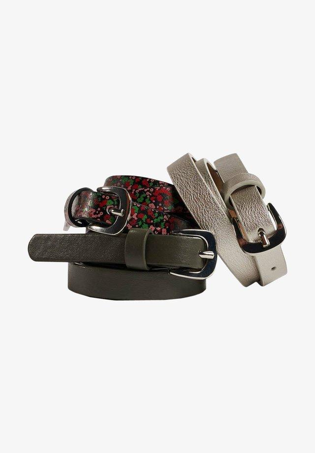 3 PACK - Belt - multi-coloured