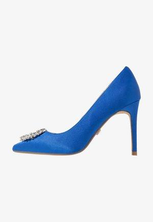 GLADLY POINTED TRIM COURT - High Heel Pumps - blue