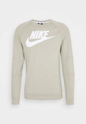 MODERN - Sweatshirt - stone/white