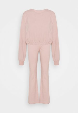 MY FLARE SET - Sweatshirt - mauve