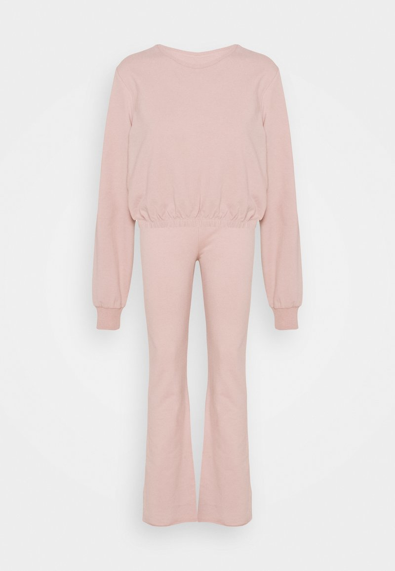 Nly by Nelly - MY FLARE SET - Sweatshirt - mauve