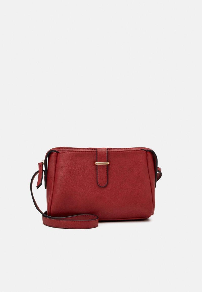 Anna Field - Across body bag - dark red