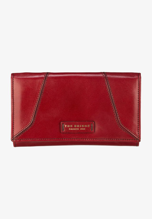 CATERINA - Wallet - ribes rosso/oro
