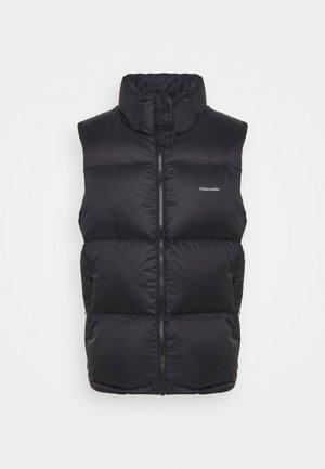AIL DOWN VEST UNISEX - Waistcoat - black