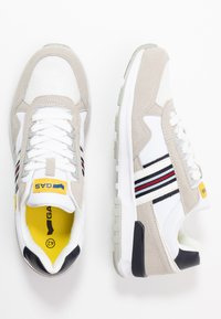 GAS Footwear - CARL SHINY  - Trainers - white - 1