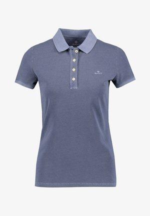 SUNFADED  RUGGER - Polo shirt - blau