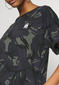 G-Star - JOOSA DRESS R WMN S/S - Jerseyjurk - khaki - 4