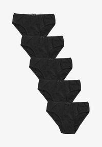Next - 5 PACK - Slip - black - 0