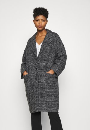 COCOON COAT - Manteau classique - danbunite caviar plaid