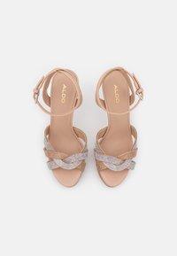 ALDO - ADREDITH - Platform sandals - bone - 5