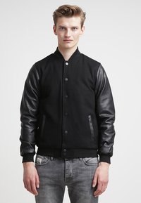 Urban Classics - OLDSCHOOL COLLEGE - Light jacket - black - 0