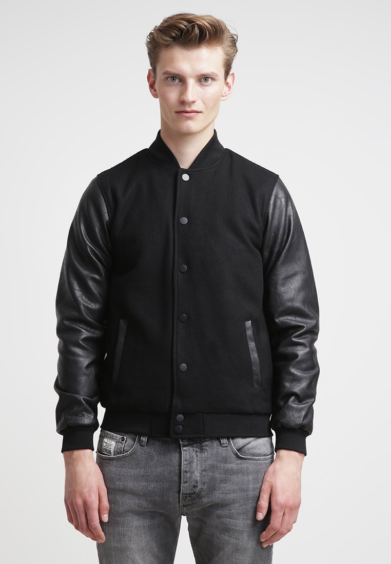 Urban Classics - OLDSCHOOL COLLEGE - Light jacket - black