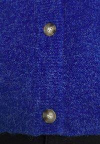 Object Tall - OBJEVE NONSIA CARDIGAN - Cardigan - mazarine blue - 7