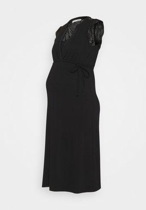 DRESS NURS SERRE - Jerseyjurk - black