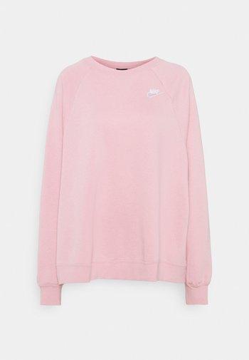 CREW PLUS - Sweatshirt - pink glaze/white