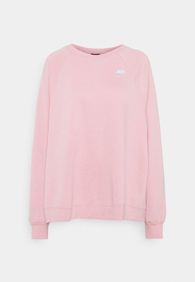 Nike Sportswear - CREW PLUS - Sweatshirt - pink glaze/white