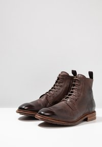 Cordwainer - Lace-up ankle boots - dark brown - 2
