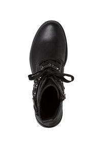 Marco Tozzi - STIEFELETTE - Cowboy/biker ankle boot - black antic - 2