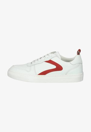Sneakers - white/red