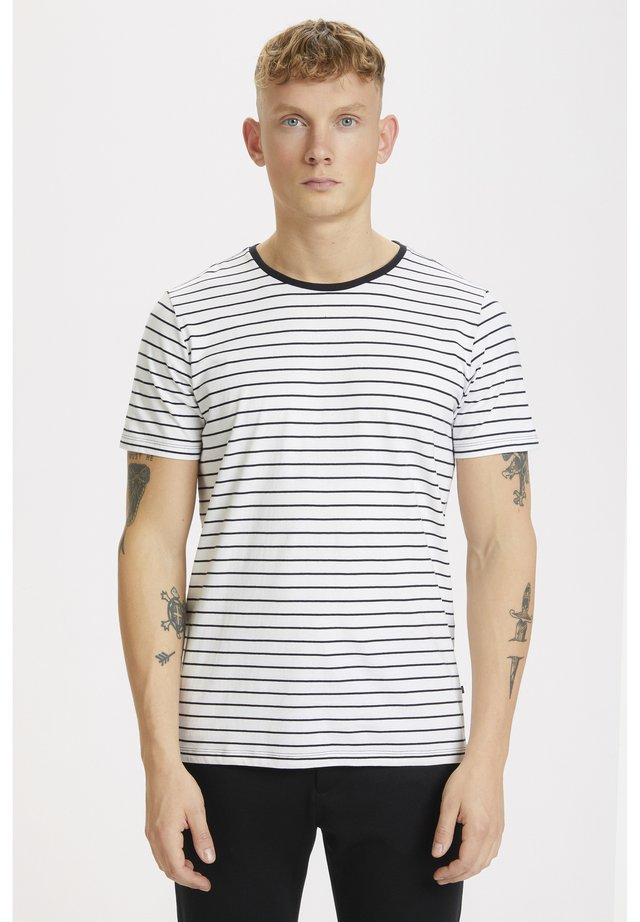 JERMANE SAILOR - T-shirt print - white