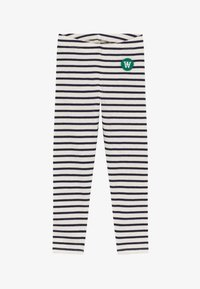 Wood Wood - IRA - Leggings - off-white/navy - 2