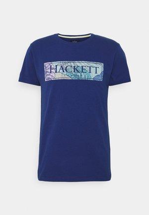 SWIM BOX - Print T-shirt - blue depth