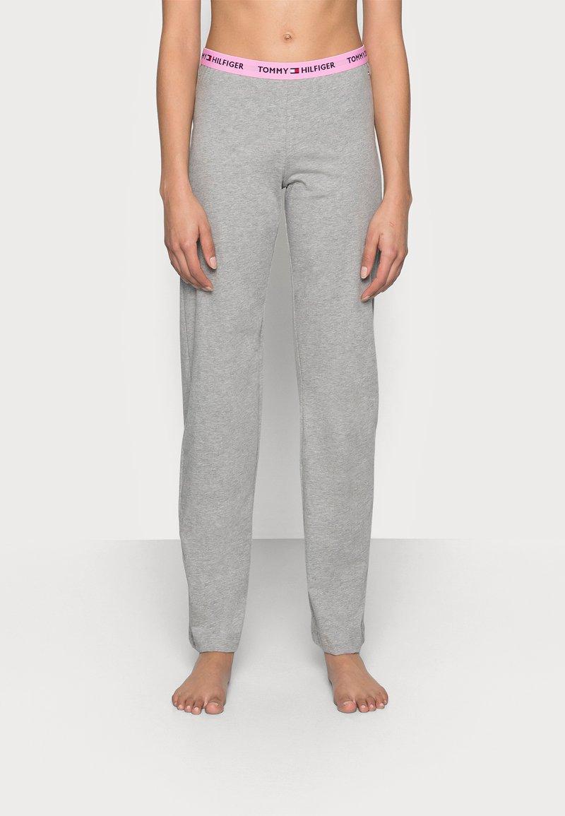 Tommy Hilfiger - SLEEP PANT - Pyjama bottoms - mid grey heather
