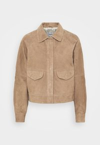 Deadwood - KYLIE - Leather jacket - sand - 4