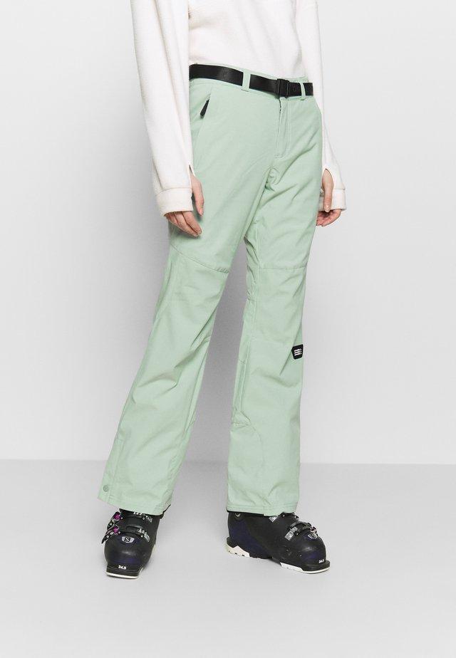 STAR SLIM PANTS - Pantaloni da neve - jadeite