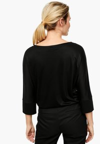 s.Oliver BLACK LABEL - Long sleeved top - black - 2