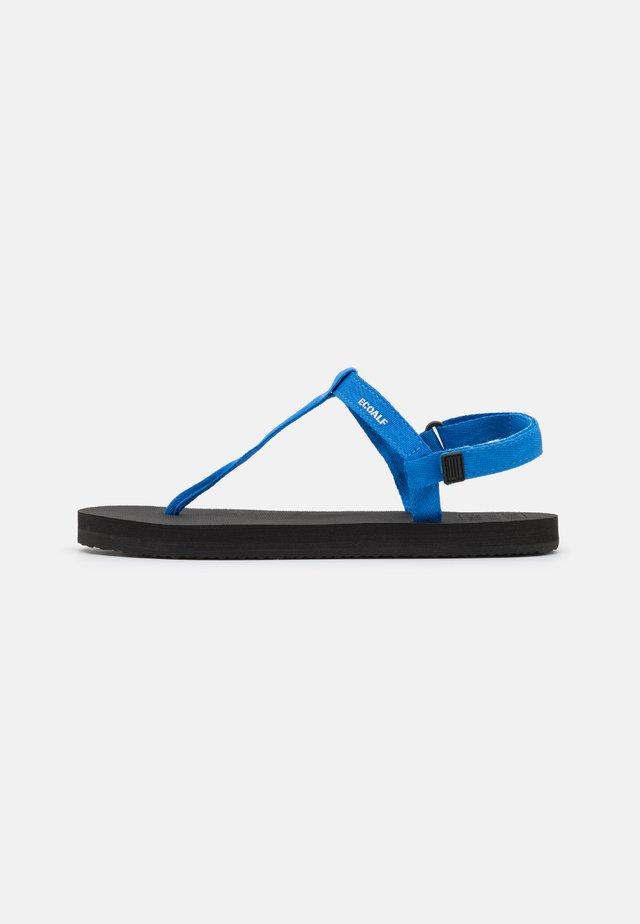 MALTA - T-bar sandals - royal blue