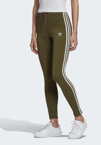 adidas Originals - LEGGINGS - Leggings - Trousers - green - 0