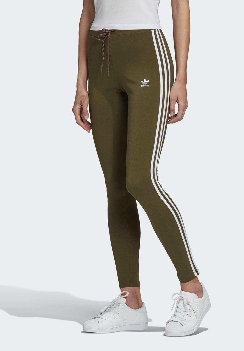 adidas Originals - LEGGINGS - Leggings - Trousers - green