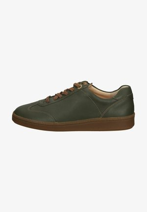 Zapatos con cordones - oliv