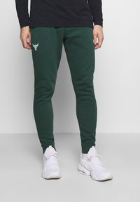 Under Armour - ROCK PANT - Tracksuit bottoms - ivy - 0