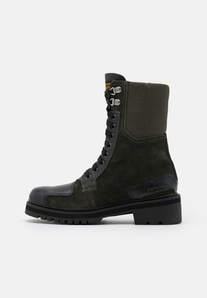 DUTY UTILITY BOOT - Lace-up ankle boots - dark combat/black