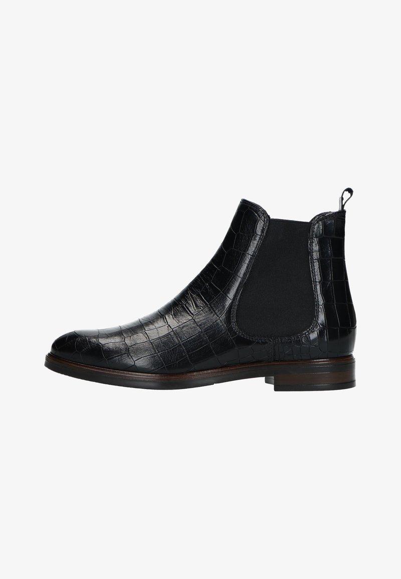 Manfield - MIT KROKOMUSTER - Ankle boots - schwarz