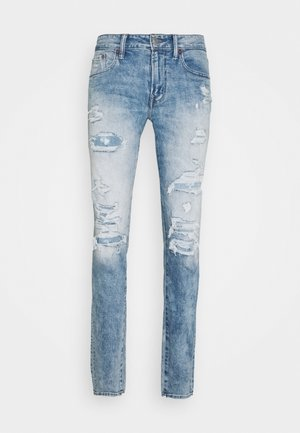 AIRFLEX ATHLETIC - Jeans Skinny Fit - destroyed denim