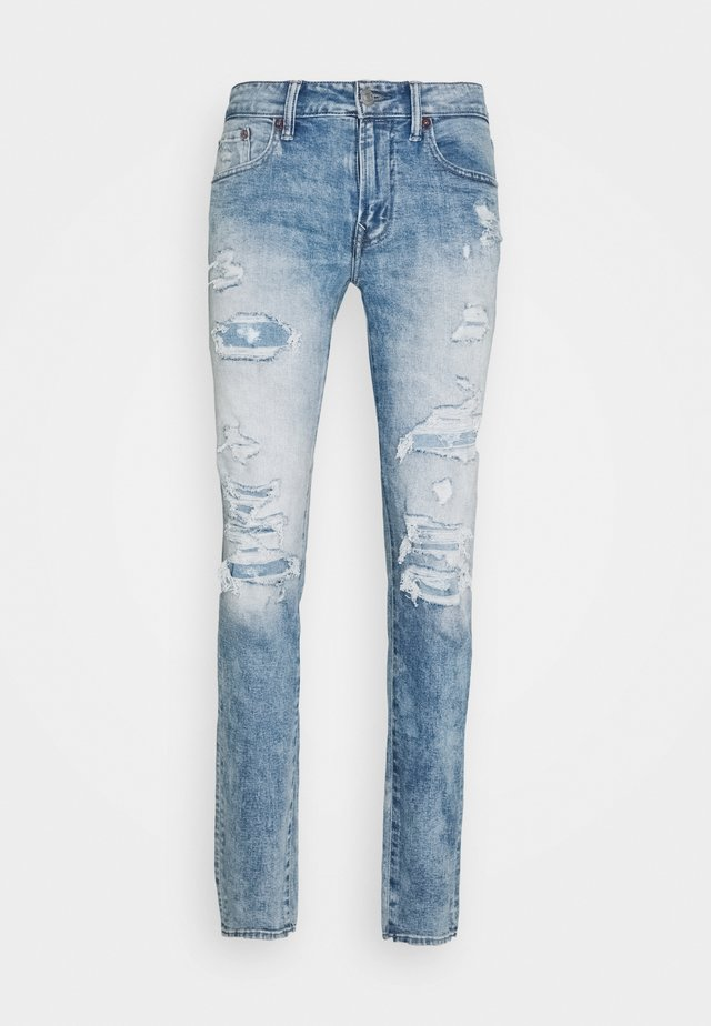 AIRFLEX ATHLETIC - Jeans Skinny - destroyed denim